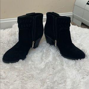 Jessica Simpson black booties